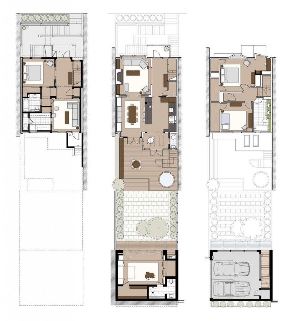 Eureka valley residence in san francisco california for California garage plans