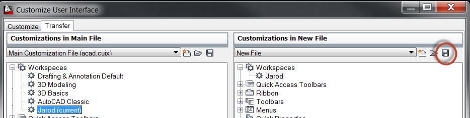 AutoCAD Platform: Migrating Workspaces and Profiles | MG aec